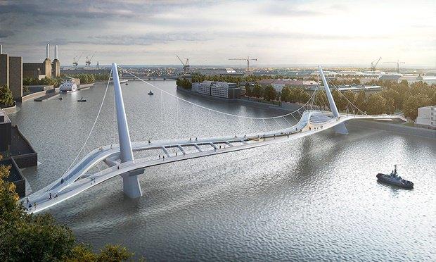 Выложены 74 проекта нового моста через Темзу. Изображение № 27.