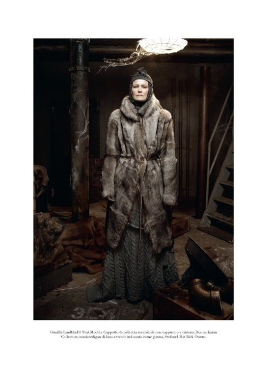 "Съёмка: ""Winter's Edge"" by Steven Meisel. Видите Россию?. Изображение № 7."