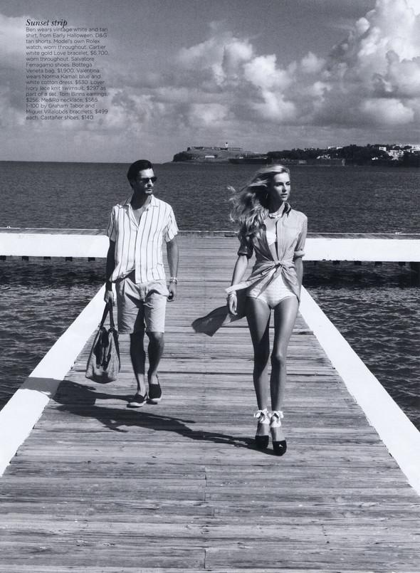 Съёмка: Валентина Зеляева для Vogue. Изображение № 13.
