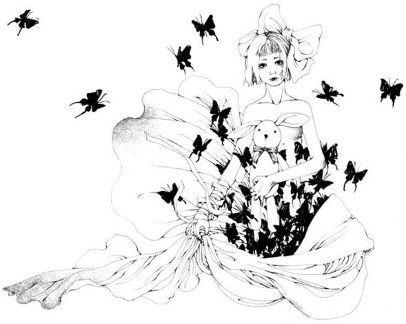 Katsuta Mako – черно-белая грация. Изображение № 35.