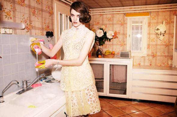 Съёмки: Elle, Vogue и другие. Изображение № 23.