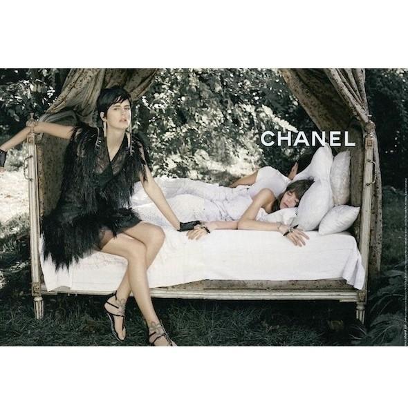 Изображение 16. Рекламные кампании: Chanel, Donna Karan, Stella McCartney и другие.. Изображение № 16.