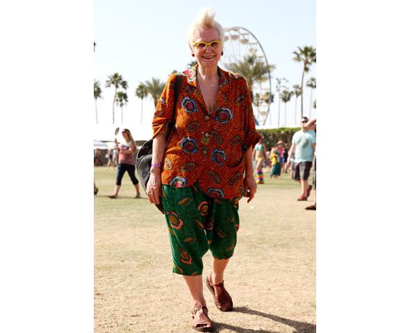 Стрит-стайл на фестивале Coachella. Изображение № 28.