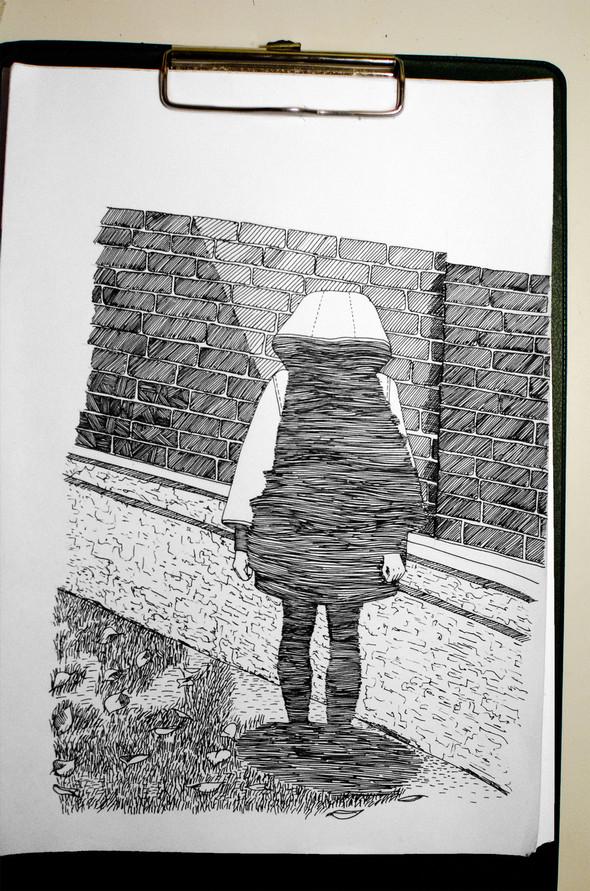 Чёрные ручки, молескин. Изображение №21.