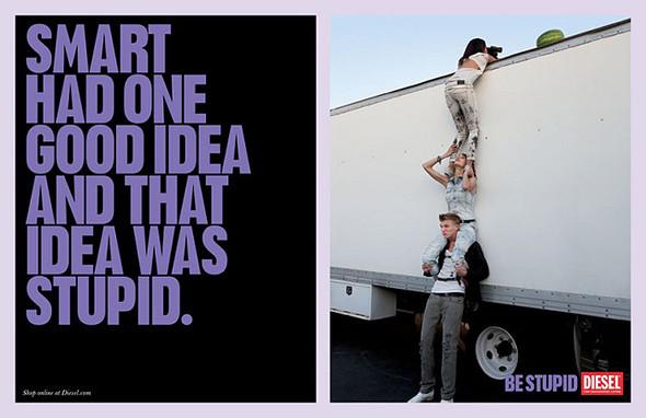 Кампания Be Stupid. Изображение № 17.