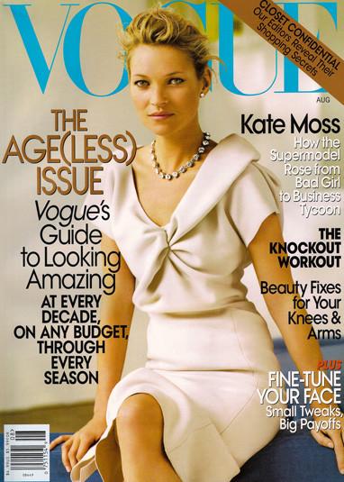 Кейт Мосс на обложках vogue. Изображение № 33.