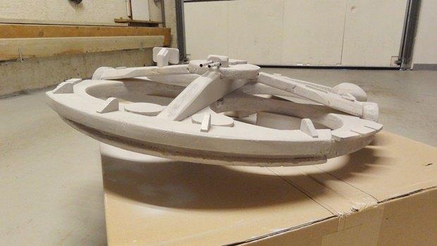Энтузиаст построил дрон в виде «Тысячелетнего сокола». Изображение № 29.