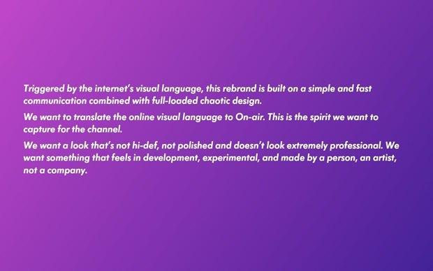 Слух: появился дизайн-бриф ребрендинга MTV. Изображение № 6.