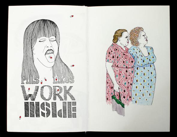Чёрные ручки, молескин. Изображение №13.