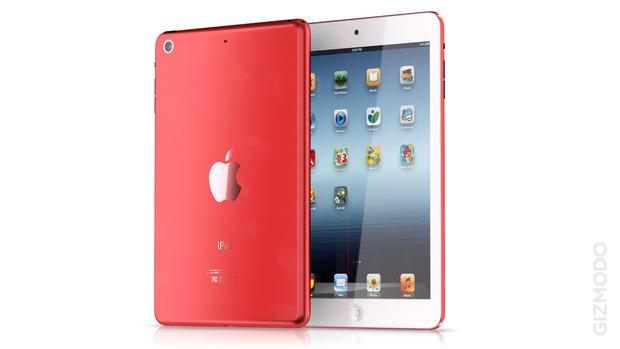 Предположительные варианты цветов iPad Mini. Изображение № 37.