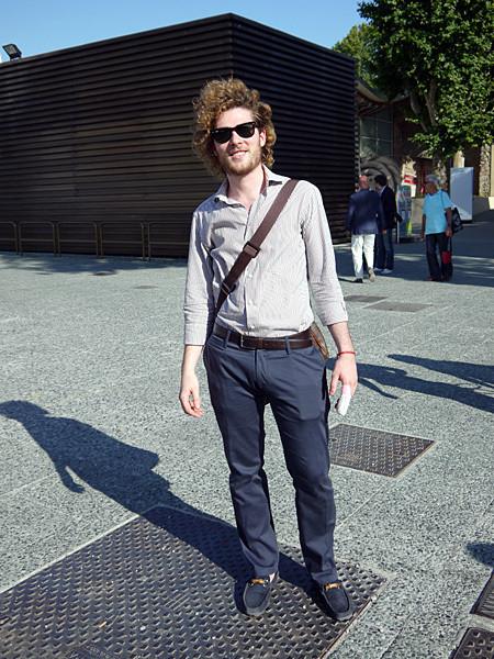 Изображение 18. Pitti Uomo, часть 1: дизайнерские павильоны и красиво одетые мужчины.. Изображение № 22.