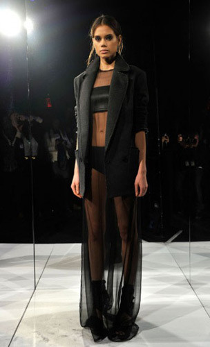 Lublu Kira Plastinina FW 2011 на показе на Нью-Йоркской неделе моды. Изображение № 32.