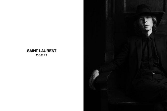 Бек и Эди Кэмпбелл снялись в кампании Saint Laurent. Изображение № 3.