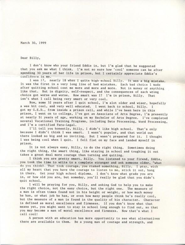 Письма маленького Билли известным и не очень людям. Изображение № 3.