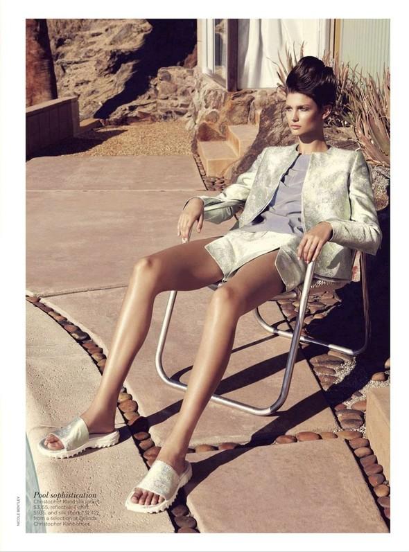 Съёмка: Марло Хорст и Кендра Спирс для австралийского Vogue. Изображение № 8.