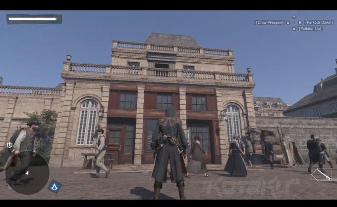 Скриншот игры Assassin's Creed: Unity. Изображение № 2.