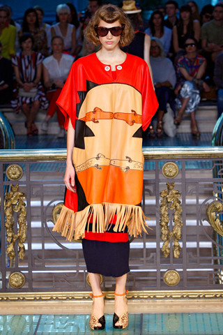 Ира Николаева на Tsumori Chisato SS 2012, фотография: Style.com. Изображение № 31.