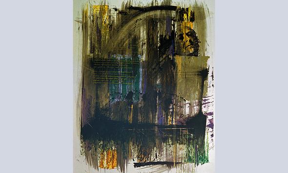 """""""Иосиф Бродский-1"""", 1994, бумага, смешанная техника. Изображение № 15."""