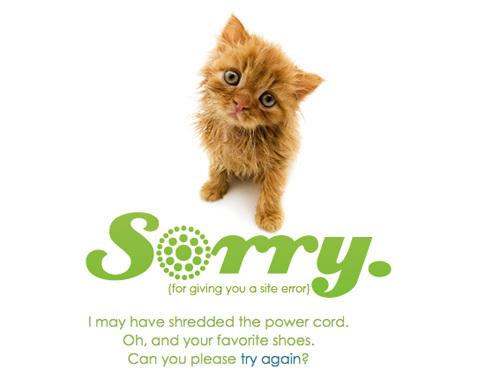 20 Интересных оформлений страницы ошибки 404. Изображение № 17.