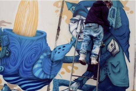 Стас Каневский: граффити во плоти. Изображение № 7.