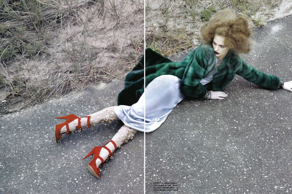 Изображение 11. Sasha Pivovarova by Craig McDean for Vogue Italia.. Изображение № 10.