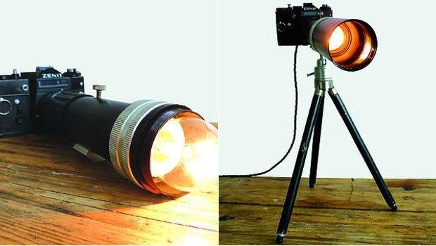 Винтажные фотоаппараты превратили в предметы интерьера. Изображение № 9.