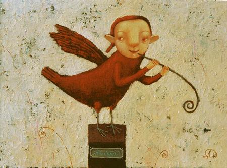 Наивная живопись Светланы Румак. Изображение № 17.