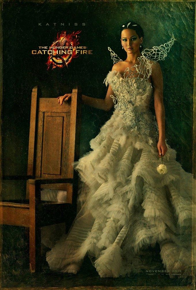 Во второй части «Голодных игр» появятся платья Alexander McQueen. Изображение № 2.
