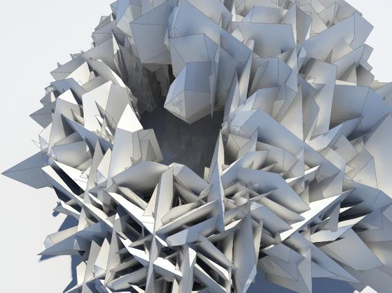 Архитектурный морфогенез MRGD. Изображение № 47.