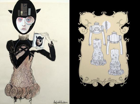 Изображение 6. Fashion-иллюстрационация от Anne Sofie Madsen.. Изображение № 6.