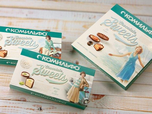 Проект агентства Depot WPF: упаковка конфет «Комильфо». Изображение № 9.