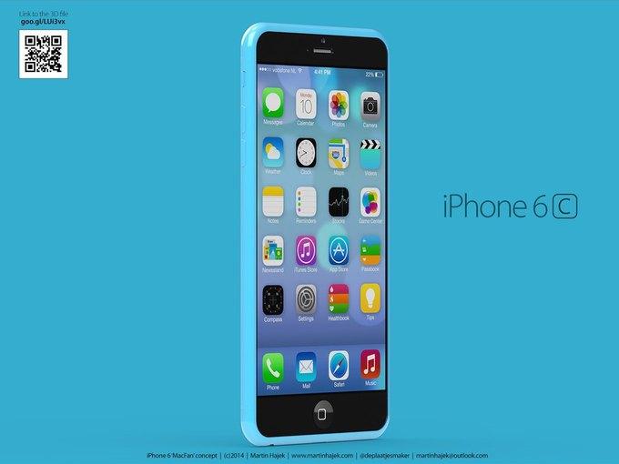 Дизайнер создал концепты iPhone 6s и 6c на основе «слива» из японского журнала. Изображение № 3.
