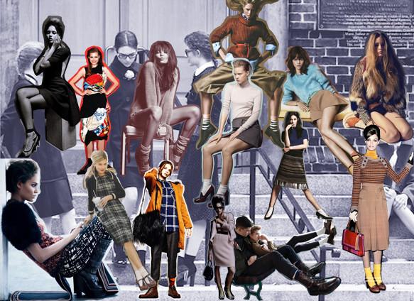 Тянем носок: Носки в осенне-зимних коллекциях. Изображение № 55.