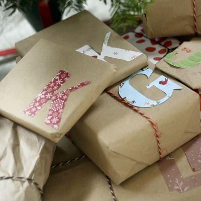 55 идей для упаковки новогодних подарков. Изображение № 69.