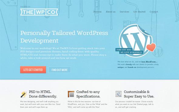 Ручная работа. Дизайн сайтов с рисованными элементами. Изображение № 28.