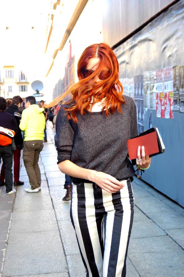 Milan Fashion Week. За кадром. Изображение № 19.
