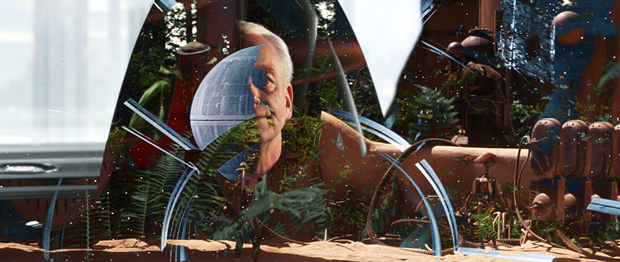 Режиссёр наложил все «Звёздные войны» друг на друга. Изображение № 9.
