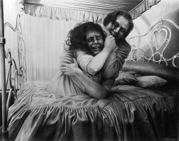 Laurie Lipton «Сюрреализм внутри нас». Изображение № 6.
