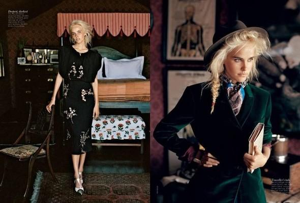 Съёмка: Изабель Лукас для австралийского Vogue. Изображение № 6.