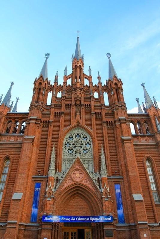 Католический собор в Москве. Изображение № 2.