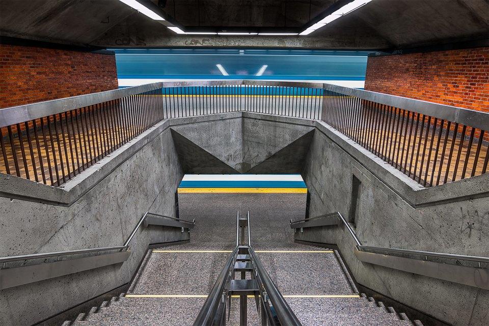 Фото: незаметная красота монреальского метро. Изображение № 8.