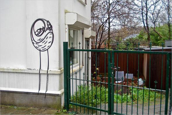 Стрит-арт и граффити Амстердама, Нидерланды. Изображение № 30.