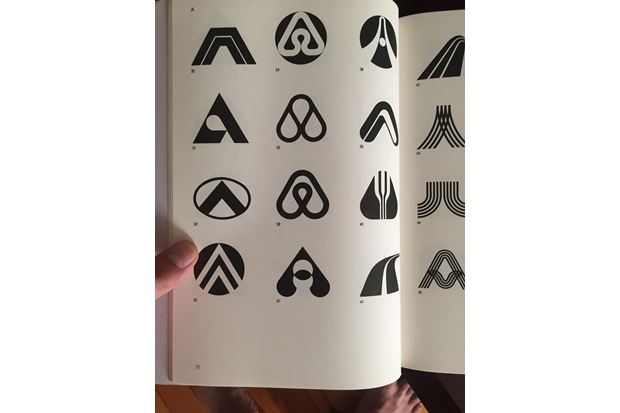 Страница из Trademarks & Symbols of the World: The Alphabet in Design. Изображение № 1.