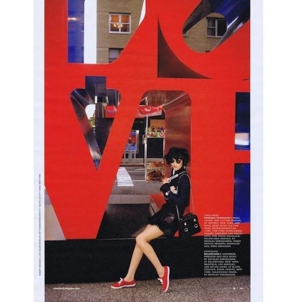 5 новых съемок: 10, Self Service, Tank, Vogue, W. Изображение № 50.
