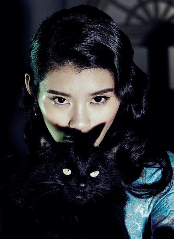 Съёмка: Мин Си для китайского Vogue. Изображение № 8.