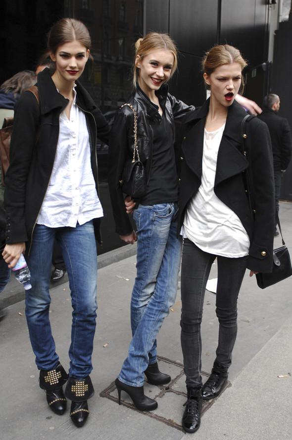Models street style. Изображение № 8.