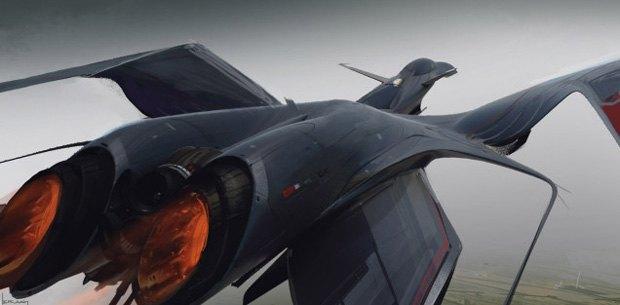 Дизайнер представил биомиметические самолёты. Изображение № 19.