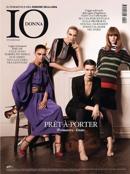 Коллекция Gucci SS 2011 появилась на 50 обложках журналов. Изображение № 30.