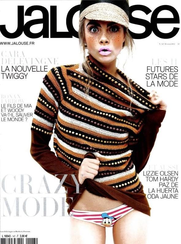 Обложки: Elle, Jalouse и Marie Claire. Изображение № 2.