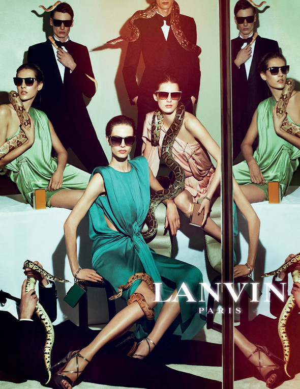 Кампания: Lanvin SS 2012. Изображение № 5.